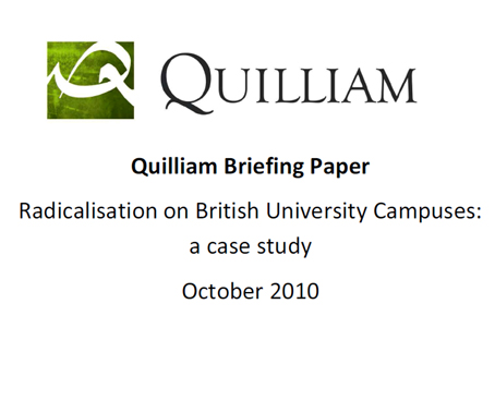 Quilliam Study of Radicalisation